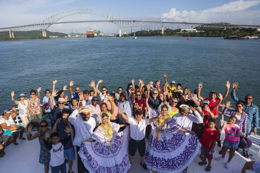 Panama Canal Boat Trip